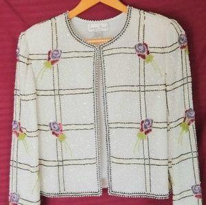 Sequined Evening Jacket
